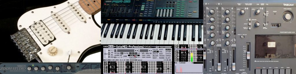1990s music home production equipment